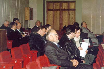 Constituency Meeting Delegates from Latvian Conference