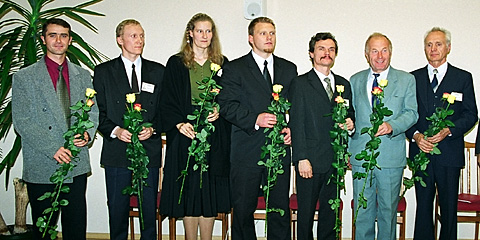 Newly elected Lithuanian Mission Field leadership and Department directors