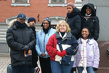 Church planters from the UK. Riga, 2004