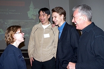 Church planters X-Change participants in Riga, 2004