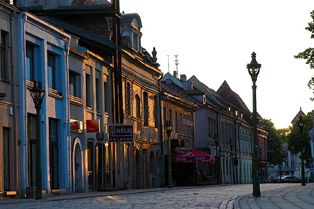 Evening in Kaunas, Lithuania