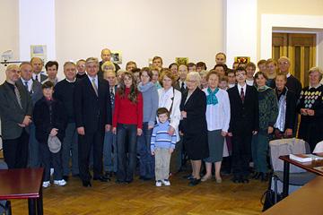 Participants of Communication Seminar. Riga, 2004.10.24