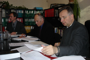 Baltic Union Conference Executive Committee meeting