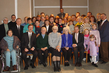 Desmitās tiesas teoloģijas semināra dalībnieki Panevēžos