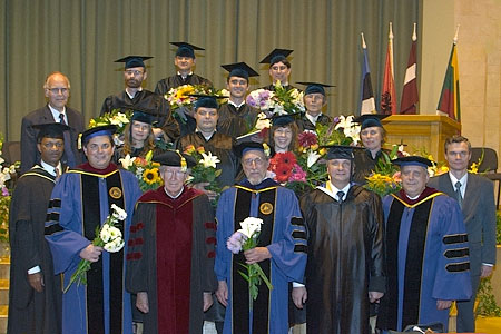 Graduates and church leaders who were involved in the programme