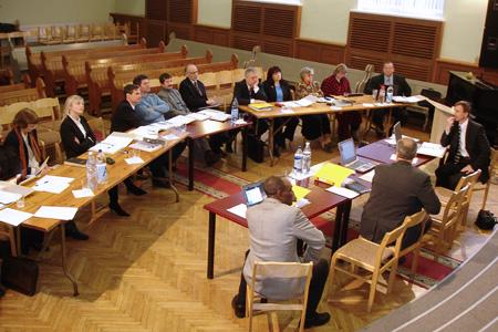 BAUC Executive Committee Winter Meeting. Riga, 2005.