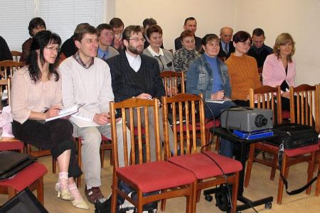 Draudzes vadītāju apmācības Lietuvā. 2006. g. janvāris