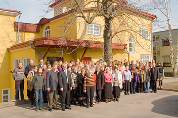 LIFEdevelopment (LD) seminar participants in Tartu, Estonia. 2006.04.09