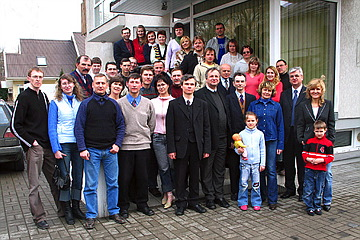 LIFEdevelopment (LD) seminar participants in Kaunas, Lithuania. 2006.04.03