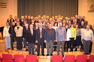 LIFEdevelopment (LD) seminar participants in Riga, Latvia. 2006.04.05
