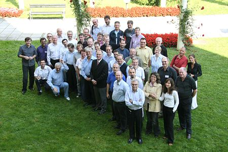 Adventist Communication Conference in Slovenia, September 2006. Participants.