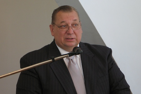 Tõnu Jugar, newly elected Estonian Conference president