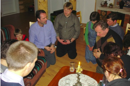 Small group in Lithuania