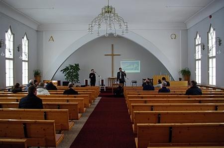 Evaņģelizācijas apmācību seminārs Tartu, Igaunijā. 2009. gada februāris.