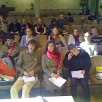Youth evangelim programme RELAY in Riga, Latvia. 2009.