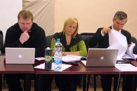 BAUC Winter Meeting. Lithuanian Field leaders. December 2009.