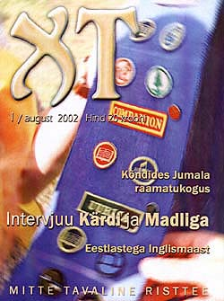 The cover of the Estonian teenager magazine XT