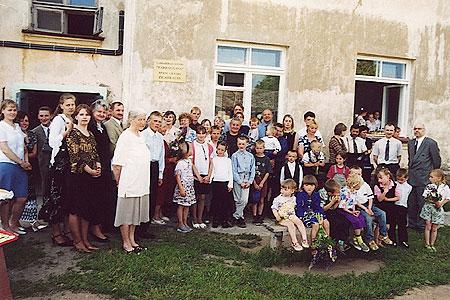 Bērnu rehabilitācijas centra iesvētīšana Zilākalnā, 2003.g. 28. jūnijā.