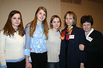 Draudžu dibinātāji no Tukuma, Latvijas pārstāvji. Rīga, 2004.g.