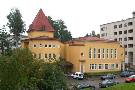 Estonian Conference office and church in Tartu