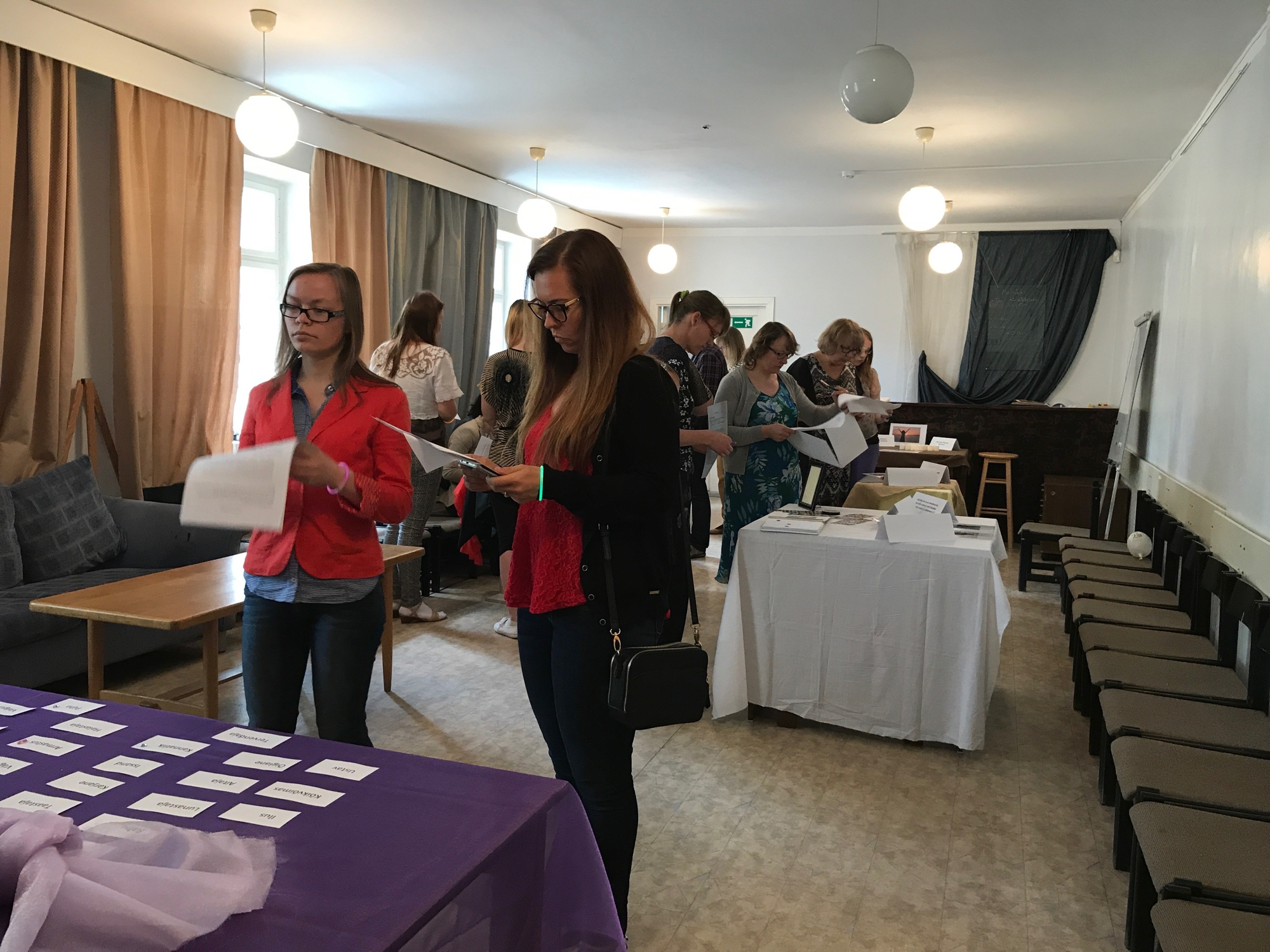 Girls for Christ training in Tartu, Estonia