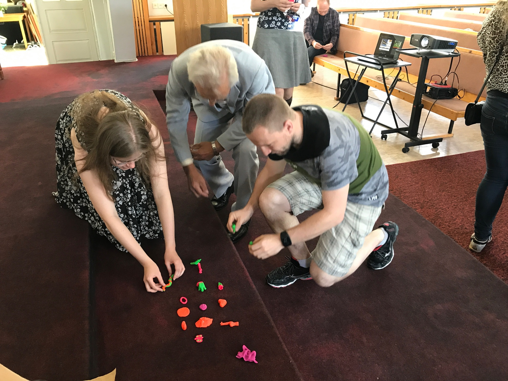 Messy Church in Tartu, Estonia