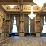 One room in the Romanian Palace of the Parliament