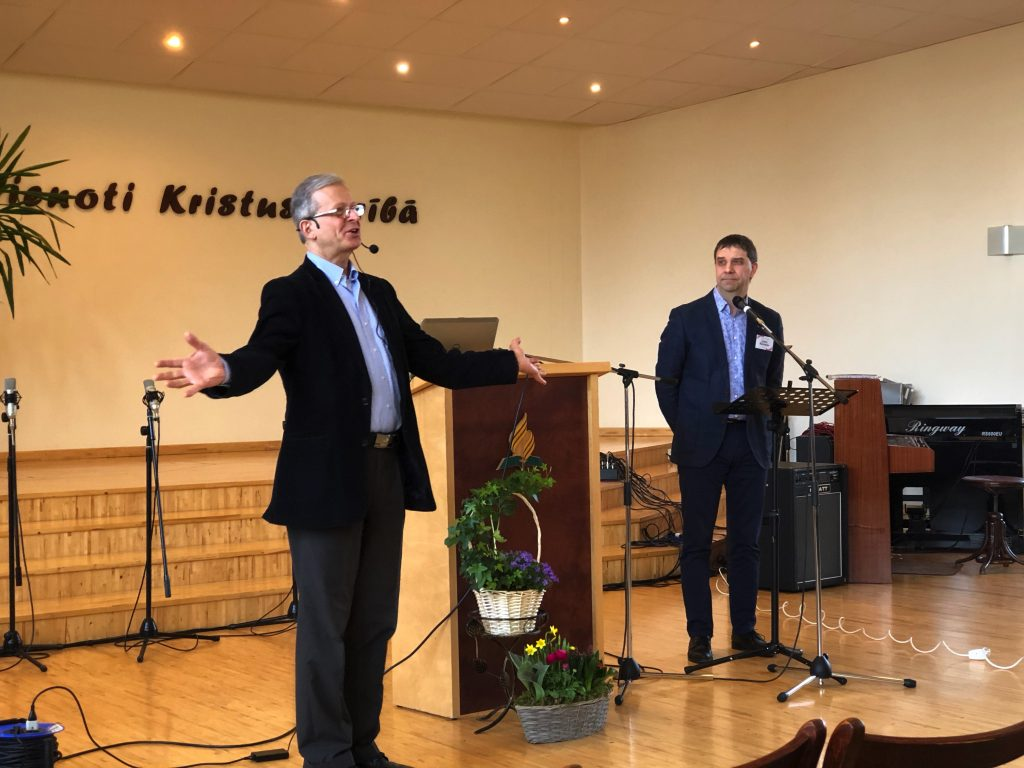 Bible Conference for pastors in Cēsis, Latvia
